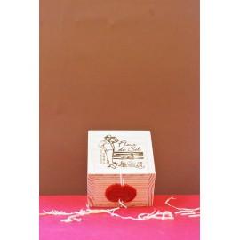 Boîte en bois Fleur de Sel 125g