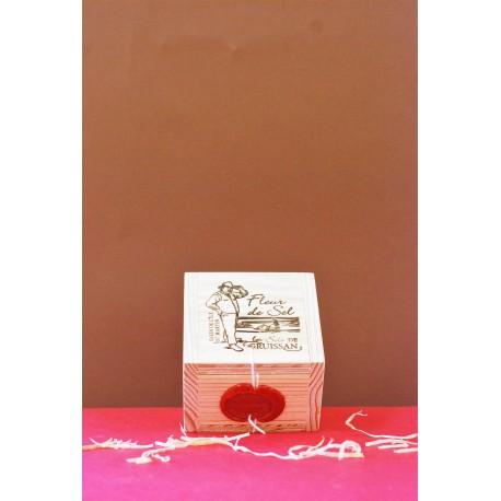 Boîte en bois Fleur de Sel