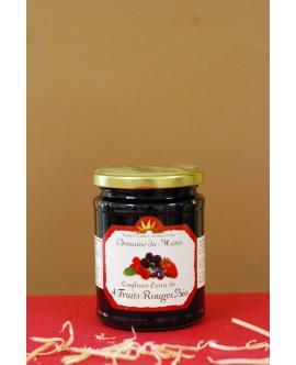 Confiture Extra de 4 Fruits Rouge Bio 350g