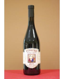 Hypocras Médiéval Rouge bouteille en verre