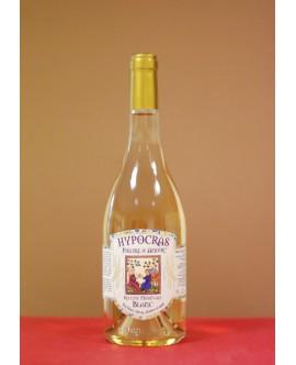 Hypocras Médiéval Blanc bouteille en verre