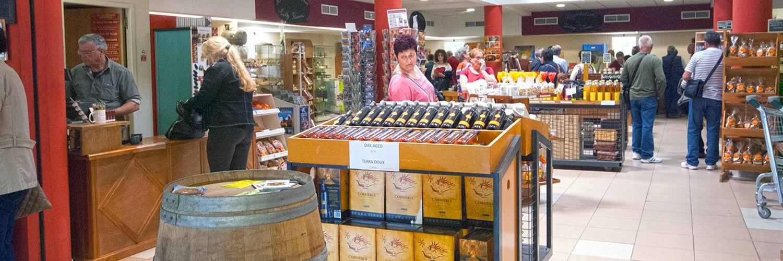 Boutique  Vente de produits Locaux Terra vinéa